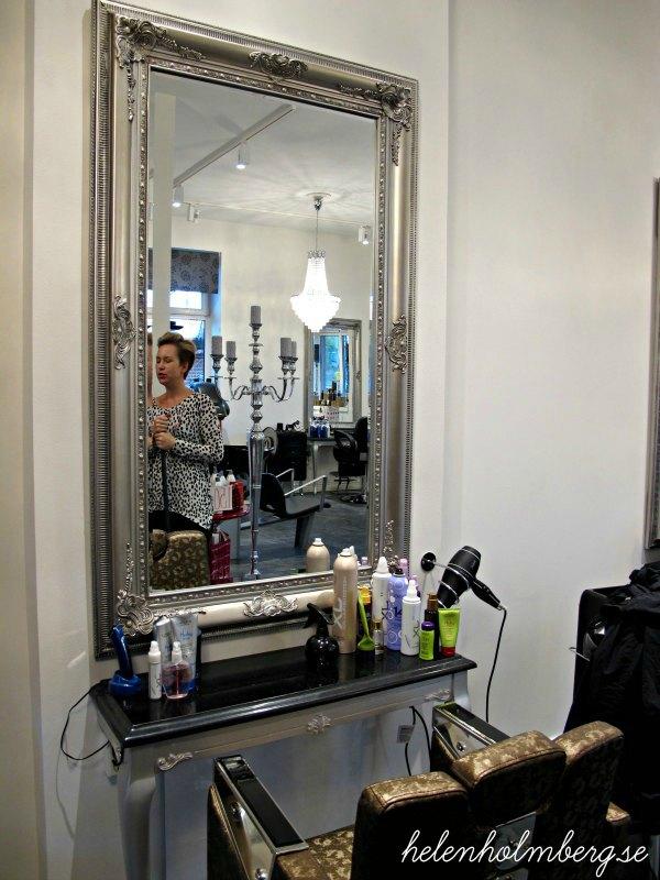 Salong Skills i Bjuv, i gamla stationshuset