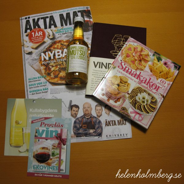Shopping på älska mat och vin mässan 2014