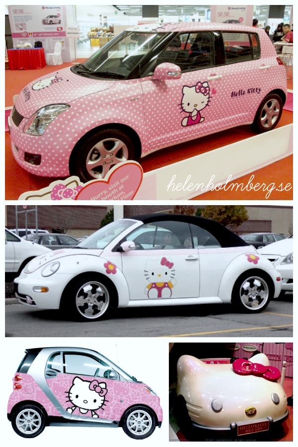 Hello Kitty bilar