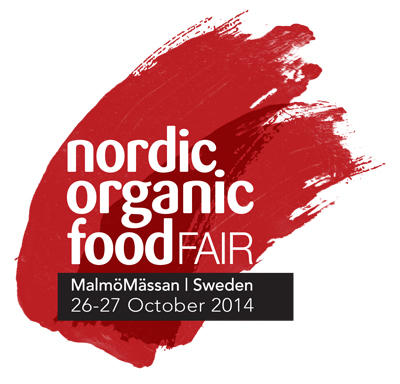 Nordic organic food fair, MalmöMässan 26-27 october