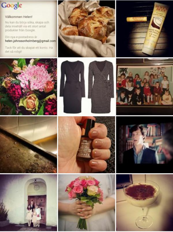 Mitt år i instagram bilder