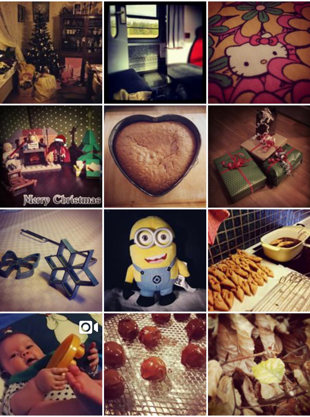Mitt år i instagram bilder, oktober – december 2014