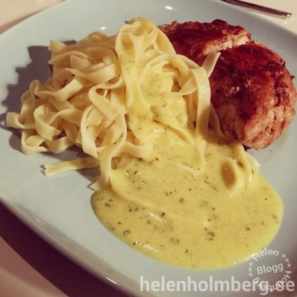 Lördag 3/1 #middag #kronfågel #svenskfågel #kyckling #bacon #pasta