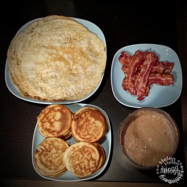 Fredag och pannkaksfest