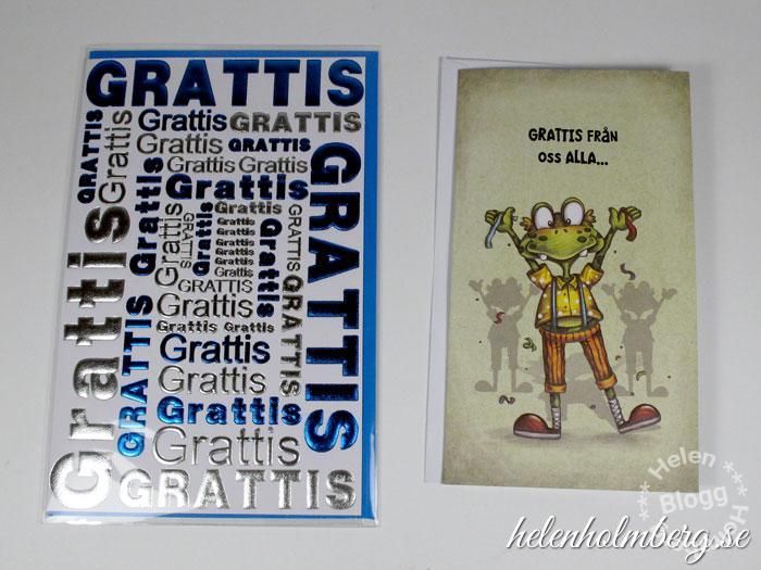 Födelsedagskort från Gekås, Ullared