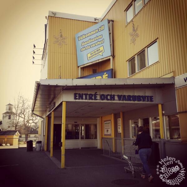 besök i det stora gula varuhuset i Halland, Gekås Ullared