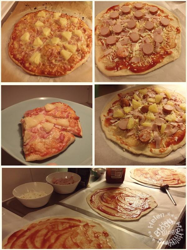 Tisdag – pizzakväll #middag #dagensmiddag #pizza #laktosfri #mozzarella