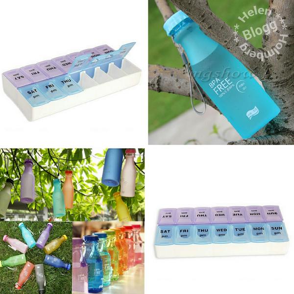 bpa fri vattenflaska och dosett