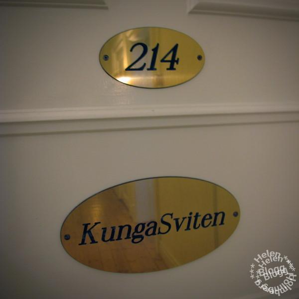 kungasviten på Hotell Continental Halmstad