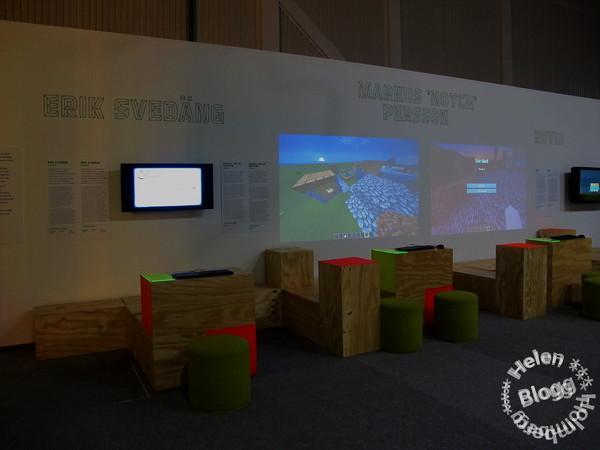 Game masters exhibition/ utställning på Halmstad arena