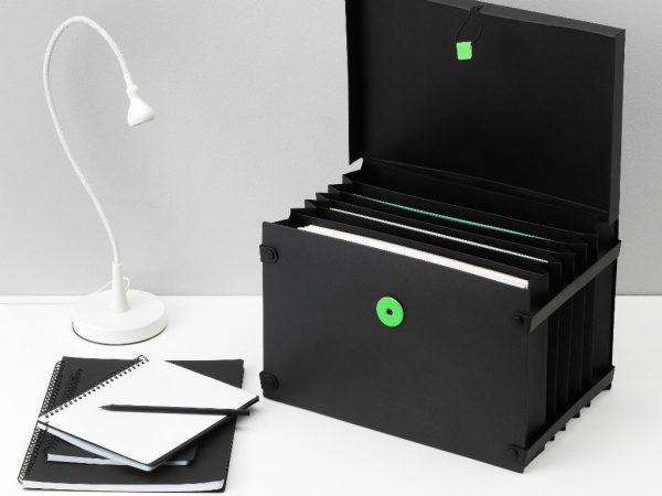 IKEA Kännetecken arkivbox