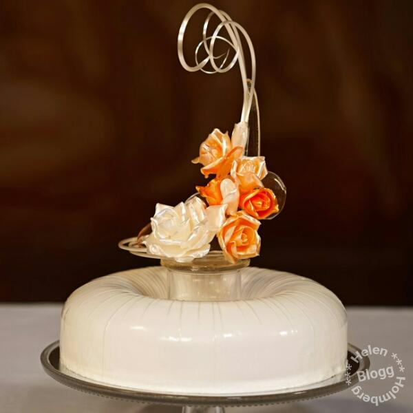 Annorlunda bröllopstårta