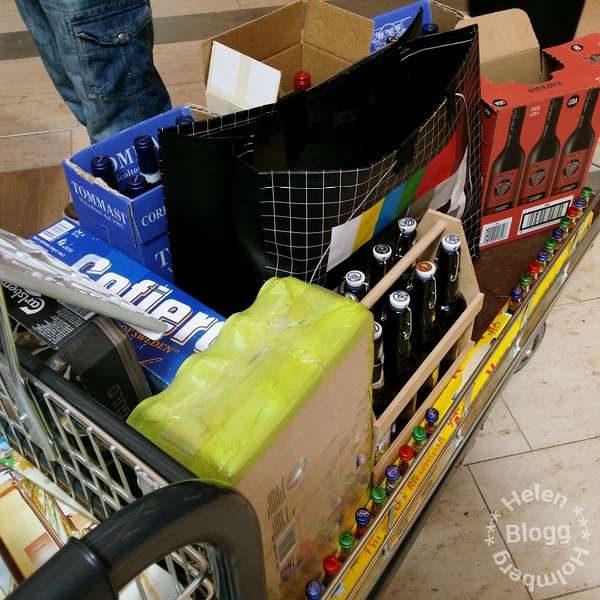Tysklands shopping på Citti i Flensburg