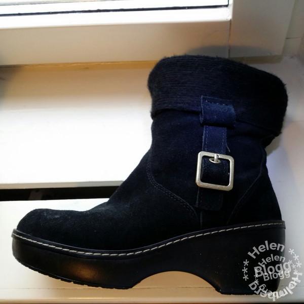 crocs ankel boots i äkta mocka