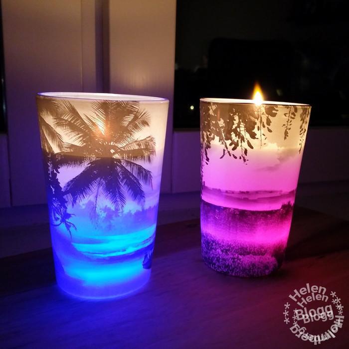 Buzzador Air Wick doftljus ljus som byter färg