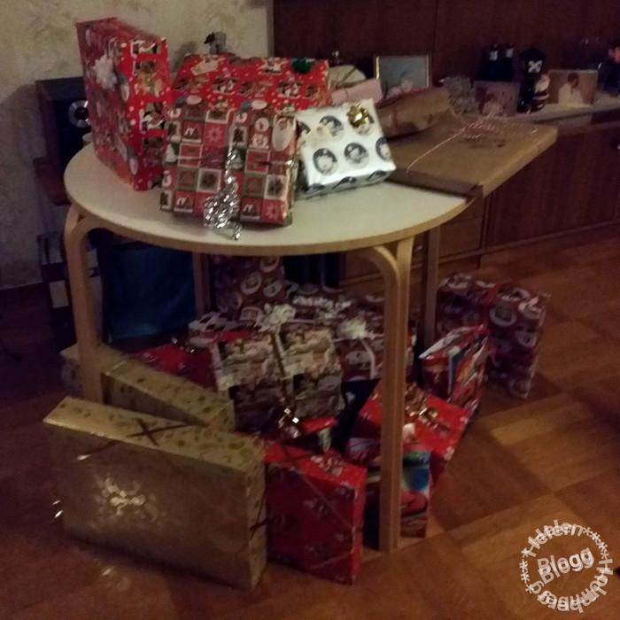 julklappar hos föräldrarna
