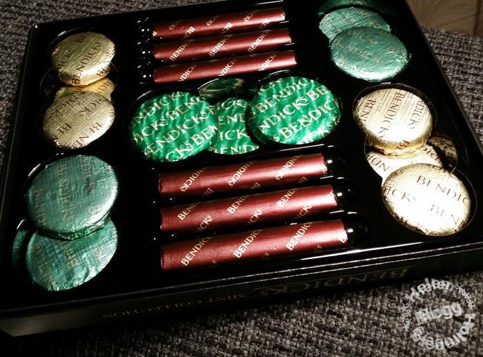 Bemdicks mint chocolate box från England
