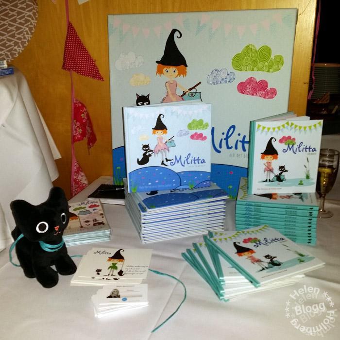Fnulan och barnbok om Militta på bloggmingel Malmö