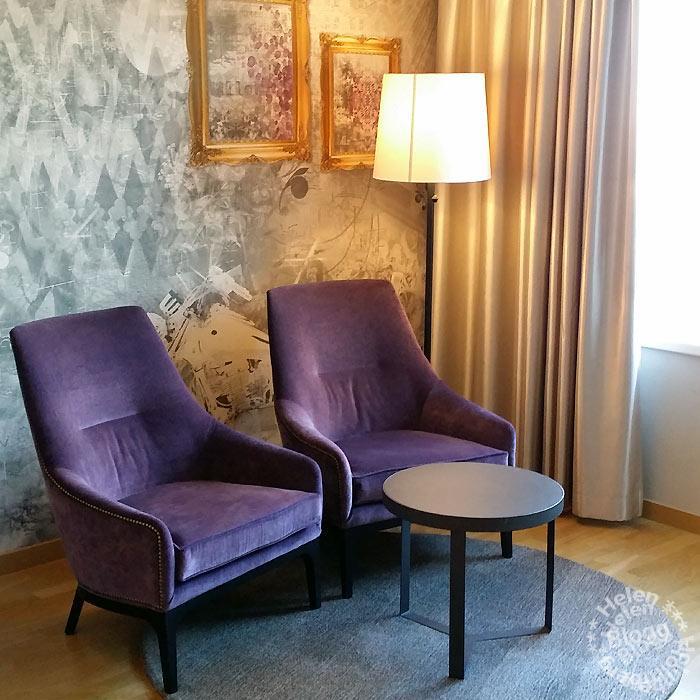 Lyxigt hotellrum på 16e våningen i Malmö