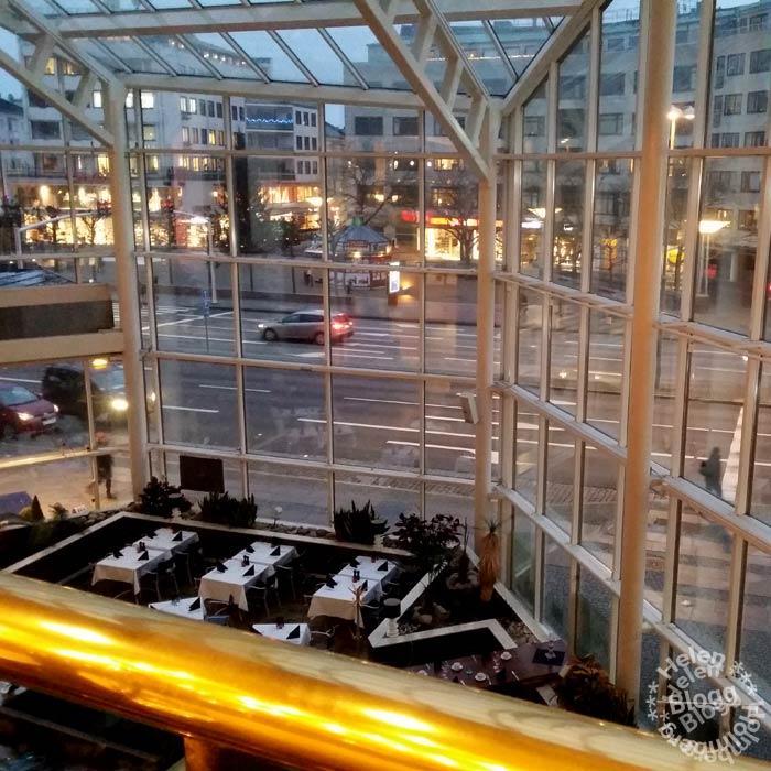 utsikt från frukostplatsen på Scandic, Malmö