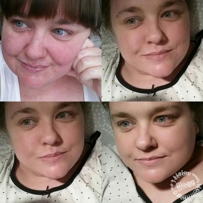 Helen Holmberg smartson testpilot för Eucerin AntiREDNESS sensitive skin hudvård