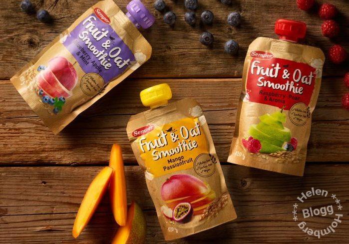 Ska få buzza nya frukt & havre smoothies