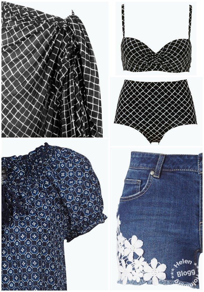 tunika, shorts och badkläder