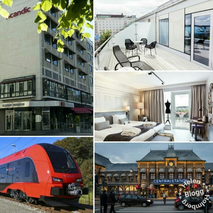 Tågresan köpt och hotellrummet bokst för Göteborgsbesök