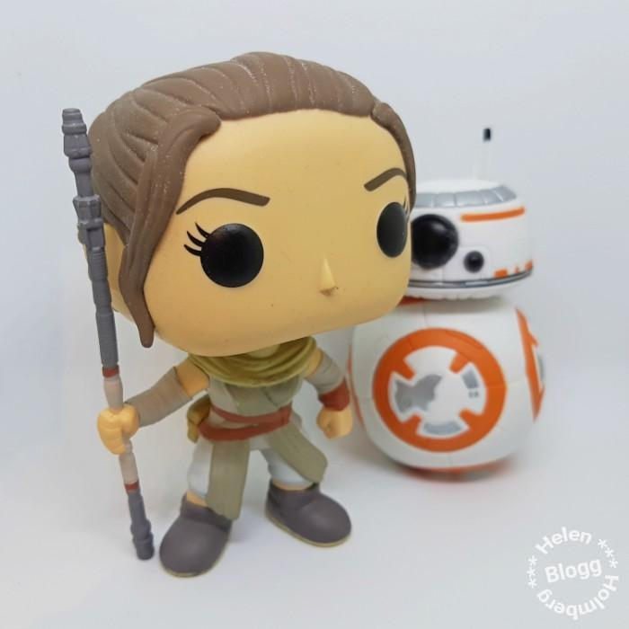 Star Wars Rey och BB-8