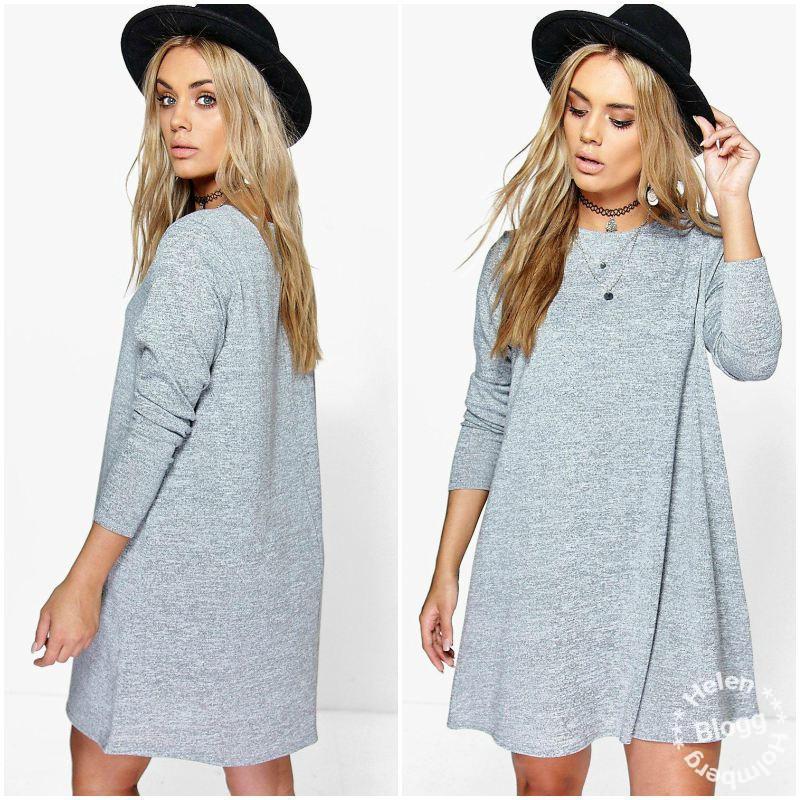 boohoo-dress02Black Friday fynd från Boohoo, en grå swing klänning