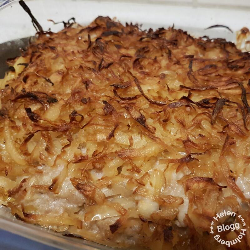 Recept på Helens kålpudding