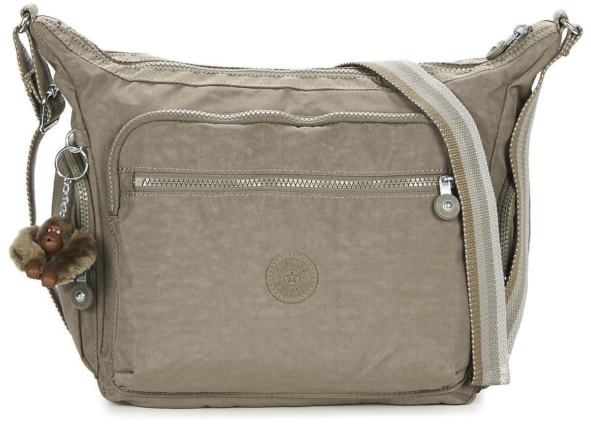 Handväska Kipling Gabbie Mullvadsfärgad