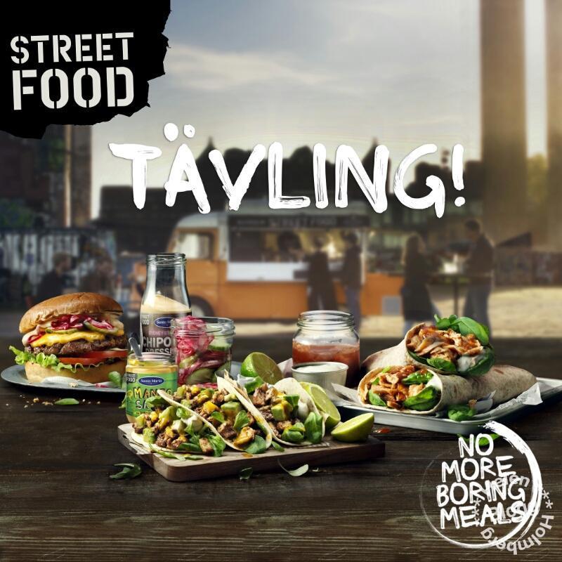 Missa inte min Santa Maria Street food tävling
