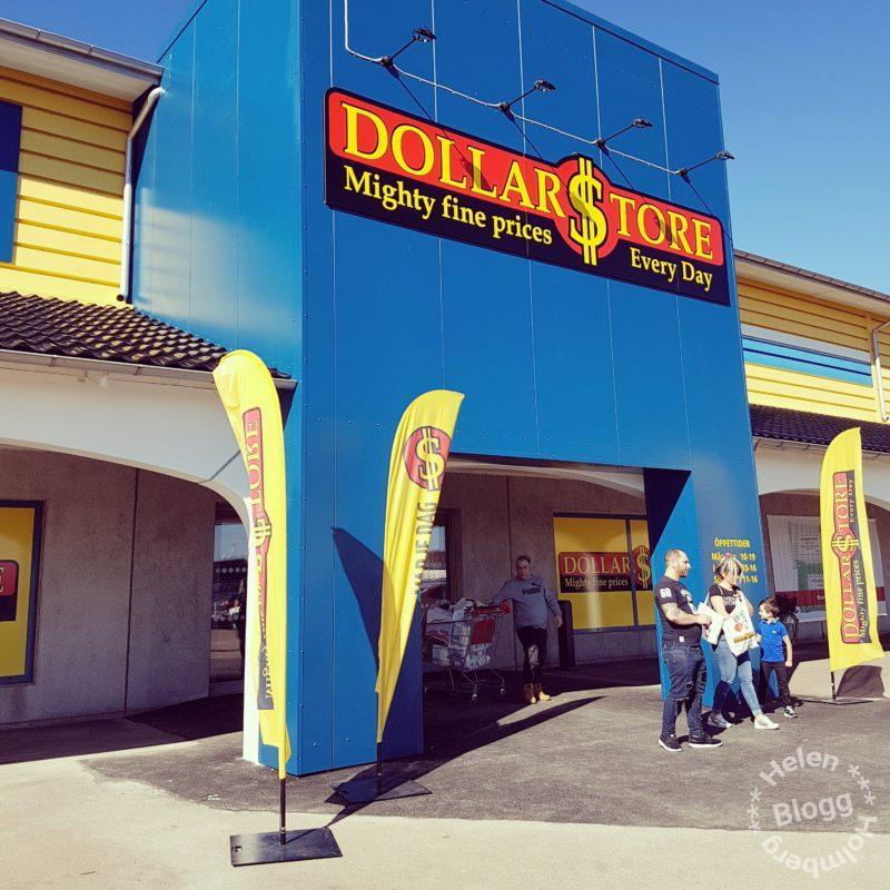 Dollarstore butik i Hyllinge