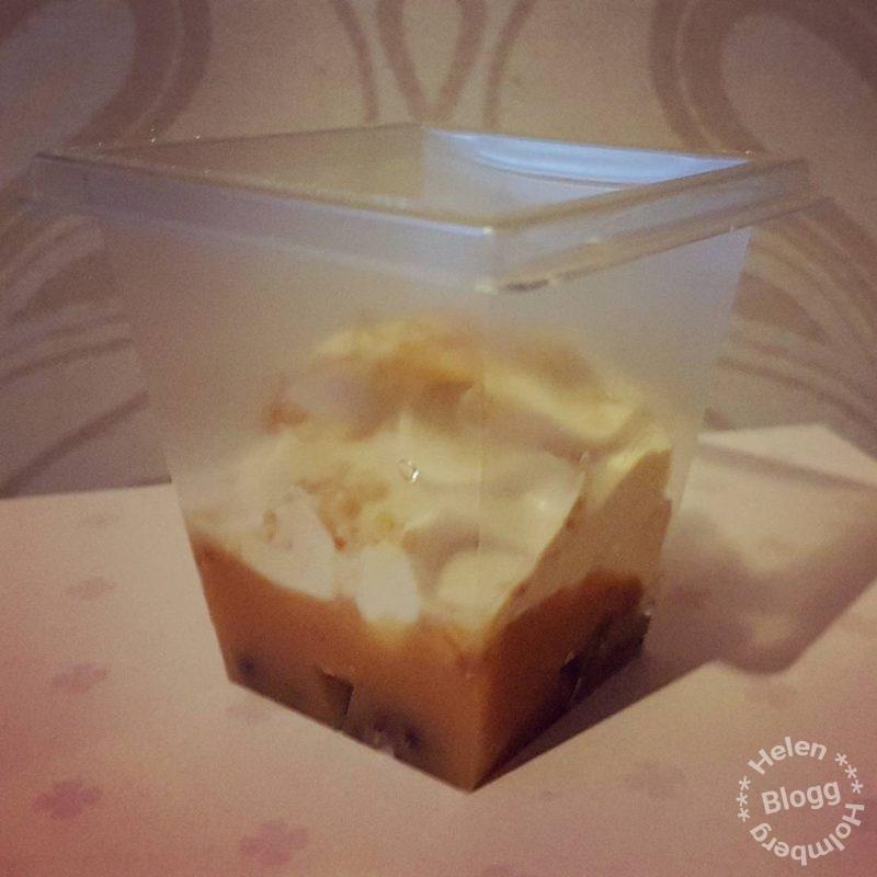 Frödinge små desserter toffee crumble provsmakaning buzzador