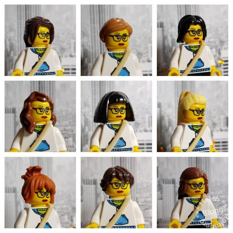LEGO Minifigs frisyrer