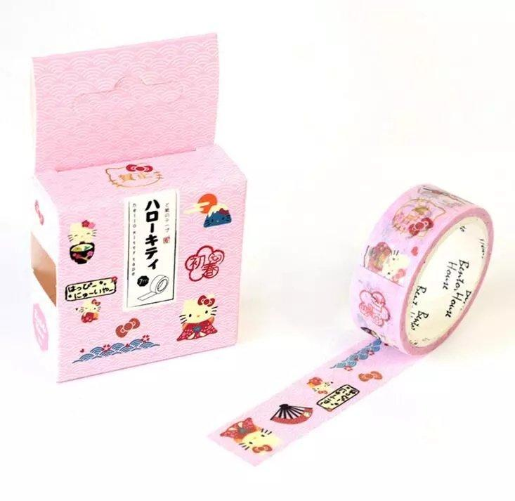 Washi tejp med Hello Kitty från aliexpress