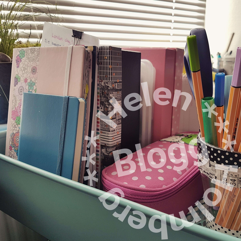 Mina pennor, washi tejp, klistermärken och skrivböcker i min ikea råskog