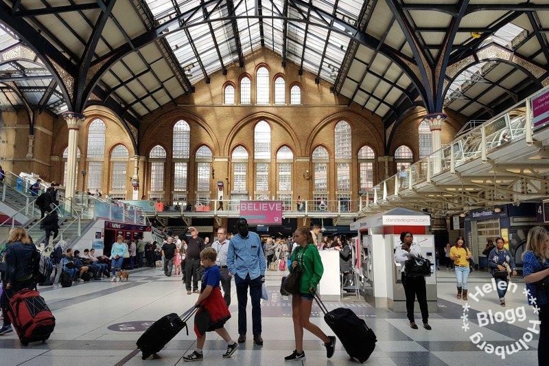 Livingpoolstreet station i London