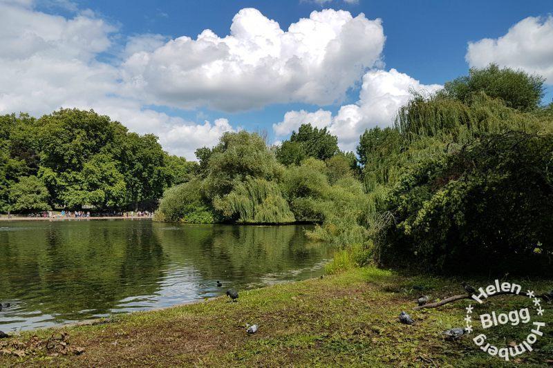 St James Park i London