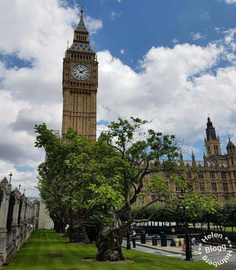 Big Ben och Westminsterpalatset i Westminster London