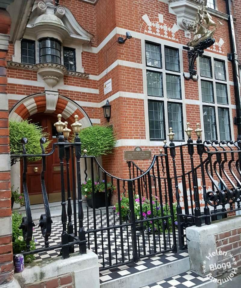 Vackra byggnader i St James Park och Westminster, London