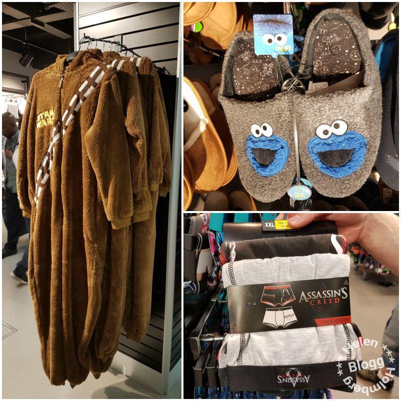 Chewbacca onepiece, cookie monster inneskor och kul underkläder på Primark Oxford Street East