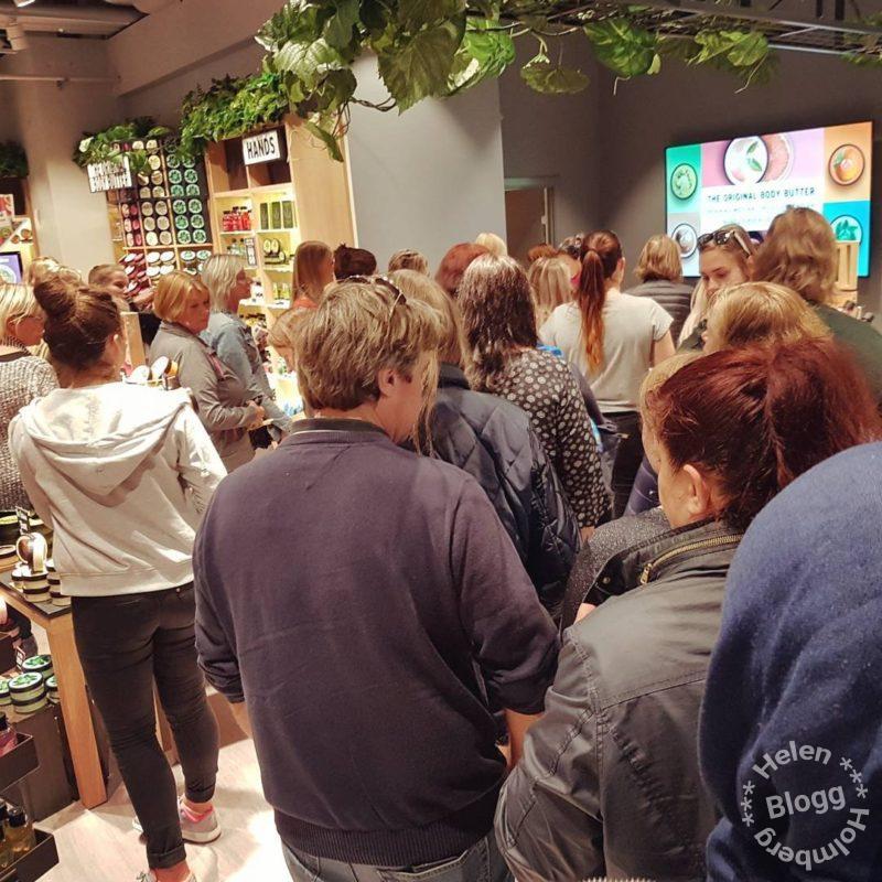 Nyinvigning på The Body Shop Väla och min första The Body Shop haul video