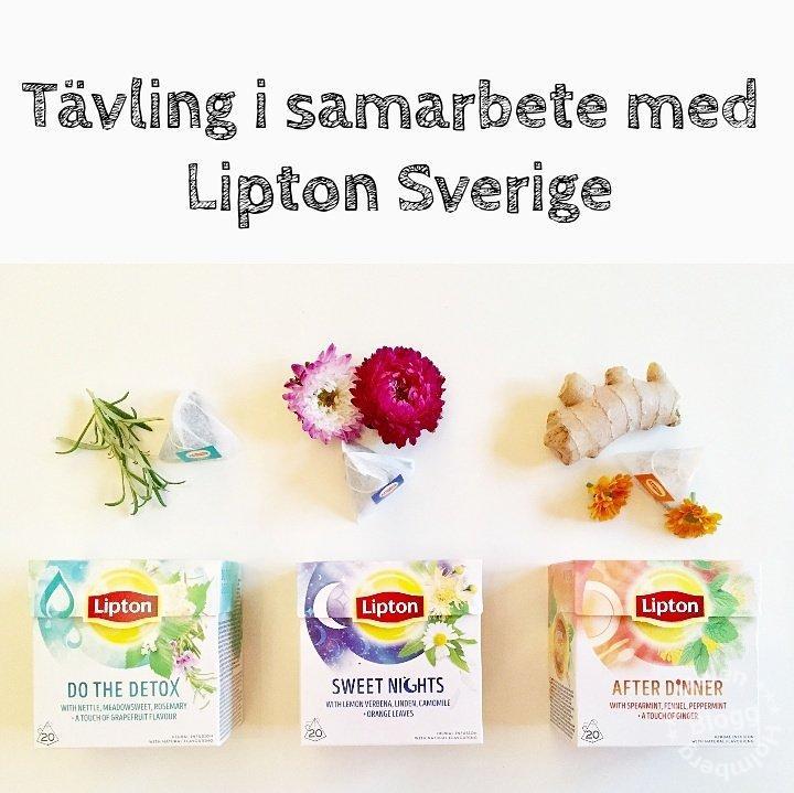 Unboxingvideo av produktnyheter från Lipton Sverige