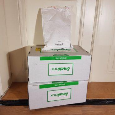Smakbox Matlag oktober utgåva och pressutskick från baby foot