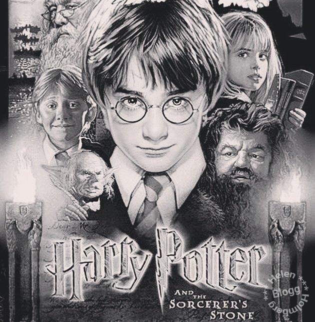 Harry Potter filmkväll en jultradition