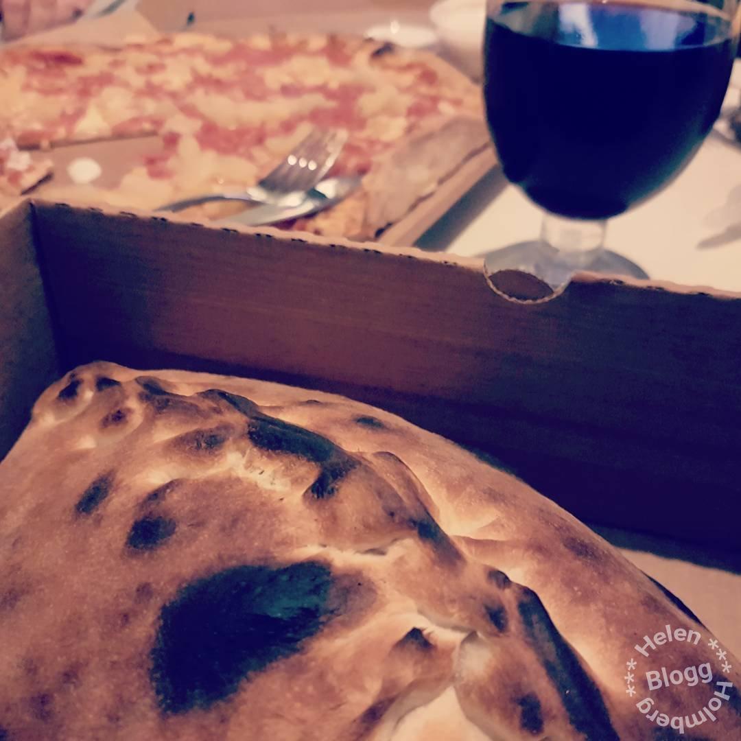 Harry Potter filmkväll med pizza