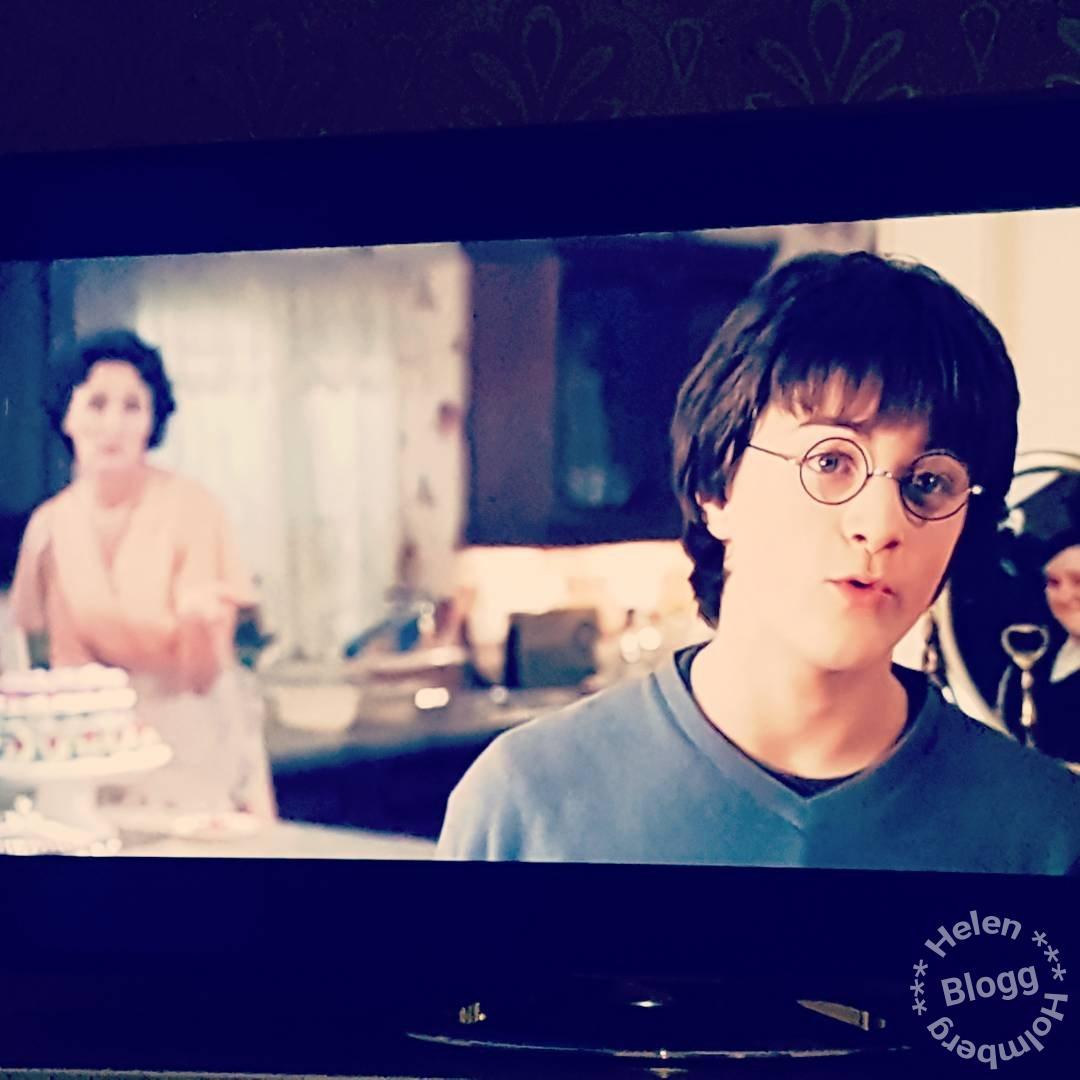Harry Potter filmkväll en jultradition sen snart 10 år tillbaka