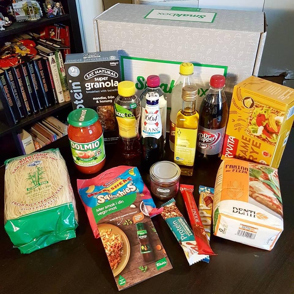 smakbox - februari box - tema matfestival